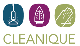 "CLEANIQUE ""we clean green"""